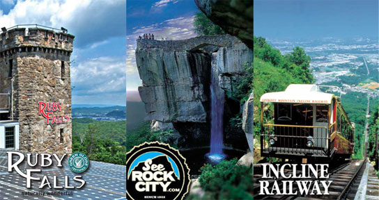 Visit the Lookout Mountain Attractions – Chattanooga Tourist Attractions Map